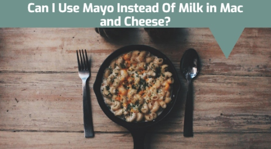 Can I Use Mayo Instead Of Milk in Mac and Cheese